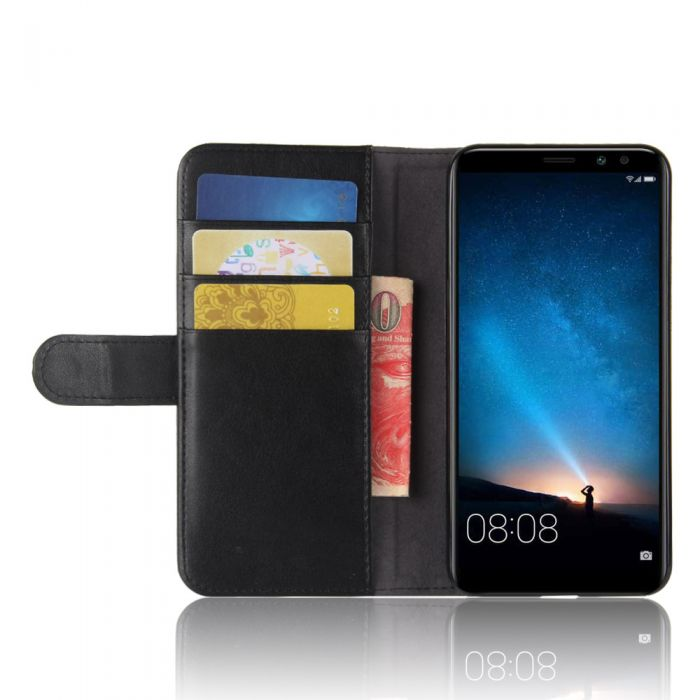 b6530539c34c7f Genuine leather Huawei G10 (Huawei Mate 10 lite) Phone Case Wallet Flip  Cover Stand Display Card Pocket