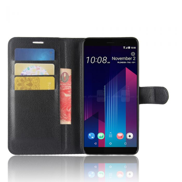 separation shoes 46503 b6333 HTC U11 Plus Phone Case Wallet Flip Cover Leather Stand Display Card Pocket