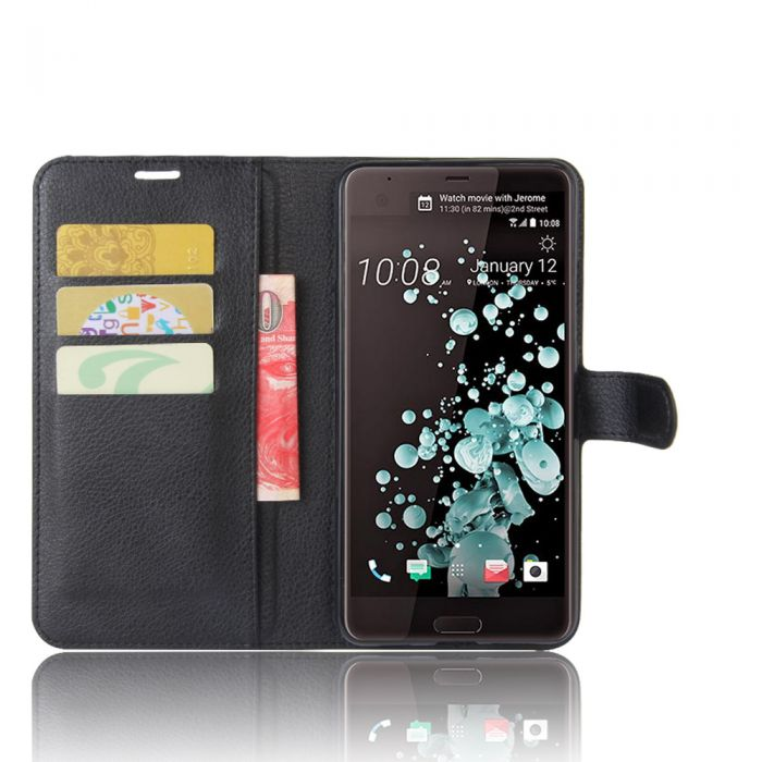 quality design 6e196 2e5e4 HTC U Ultra and HTC Ocean Note Wallet Flip Cover Leather Kickstand Phone  Case