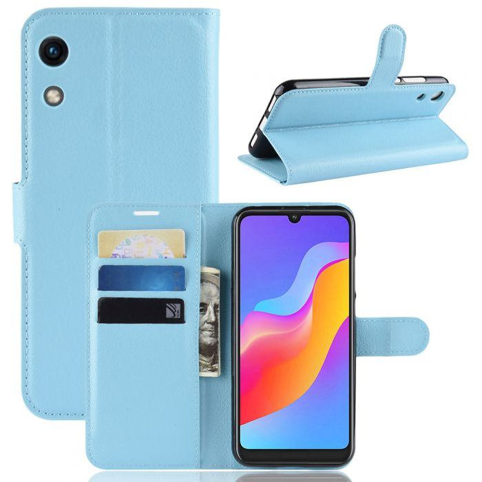 super popular f1fa5 802d7 Huawei Honor Play 8A Phone Case Wallet Flip Cover Folio Leather Case Stand  Display Card Pocket