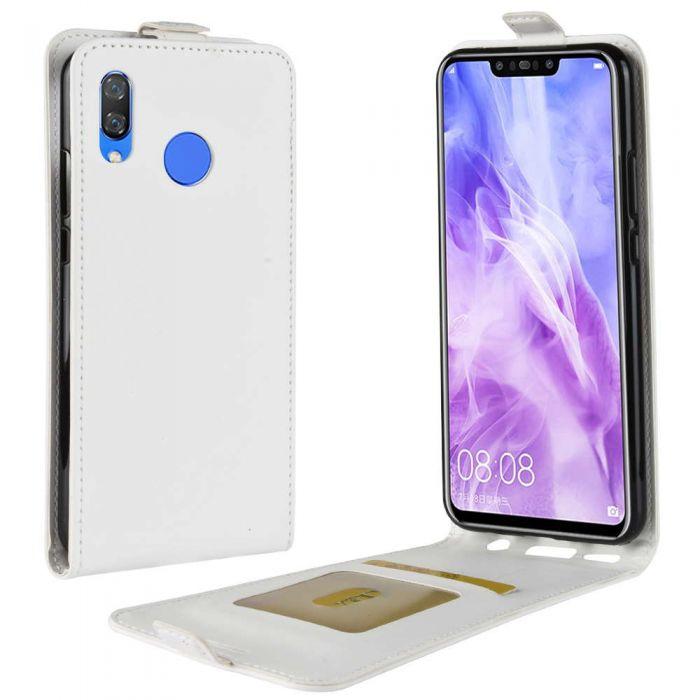 best website f06cf a9aa2 Huawei nova 3 Leather Flip Phone Case Flip Cover Vertical Open Wallet Case
