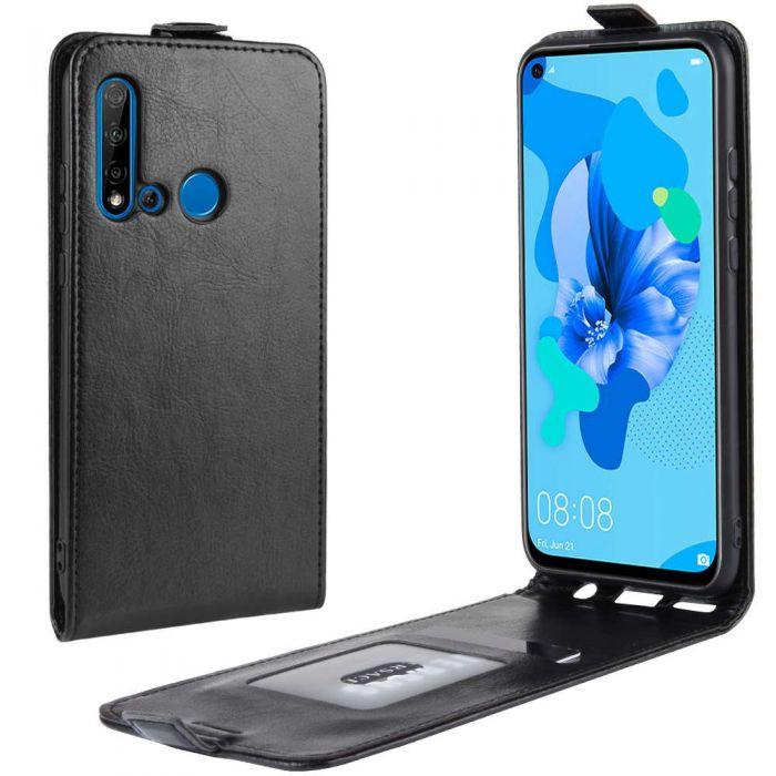comprare popolare b8e82 e7d37 Huawei P20 Lite 2019 /nova 5i Leather Flip Phone Case Flip Cover Vertical  Open Wallet Case