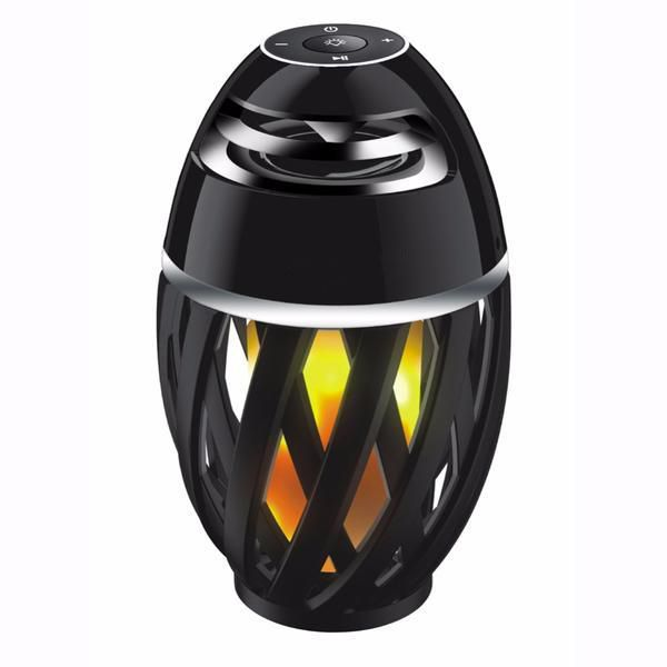 Led Flame Lamp With Bluetooth Speaker, Led Flame Lamp Bluetooth Speaker