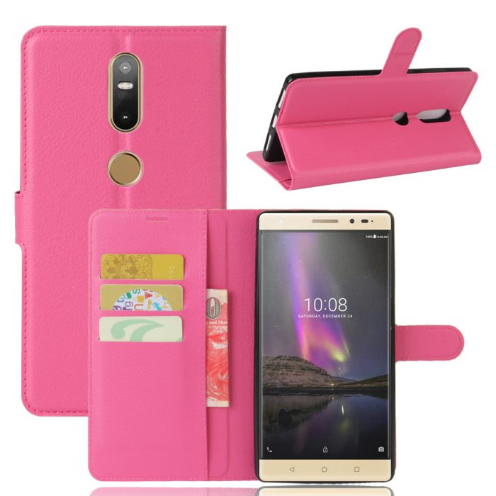 Lenovo phab 2 plus Phone Case Wallet Flip Cover Folio Leather Case Stand Display Card Pocket | Free Shipping | TTLET.com