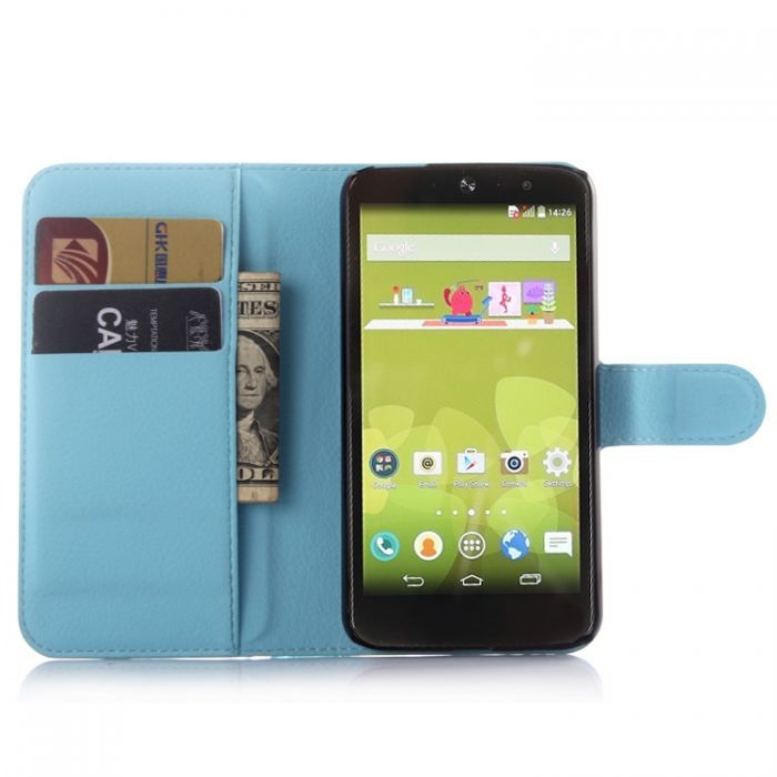 LG AKA Phone Case Wallet Flip Cover Leather Stand Display Card Pocket