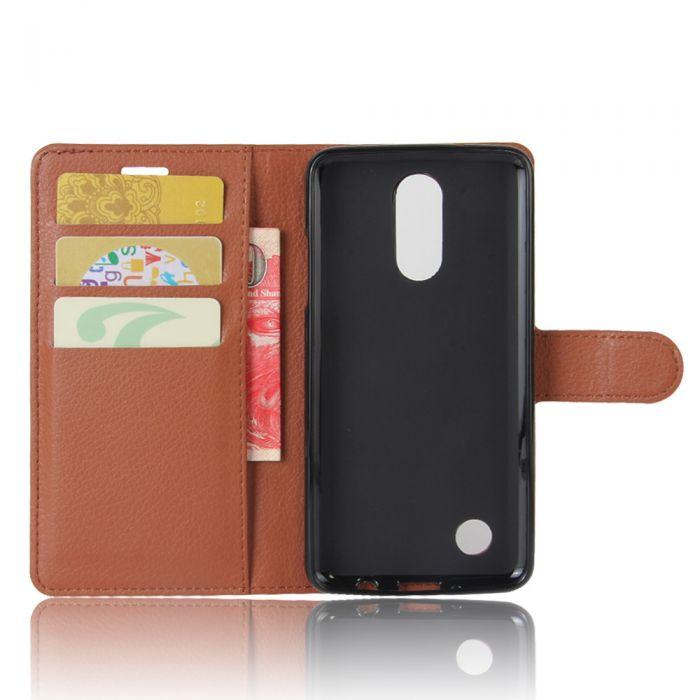 best value 516e3 85724 LG K10 (2017) USA LV5 LG K20 Plus (5.3) Phone Case Wallet Flip Cover  Leather Stand Display Card Pocket