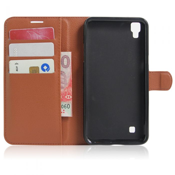 best sneakers 84ed2 17c4b LG X power K220DS K220 LS755 US610 Phone Case Wallet Flip Cover Leather  Stand Display Card Pocket