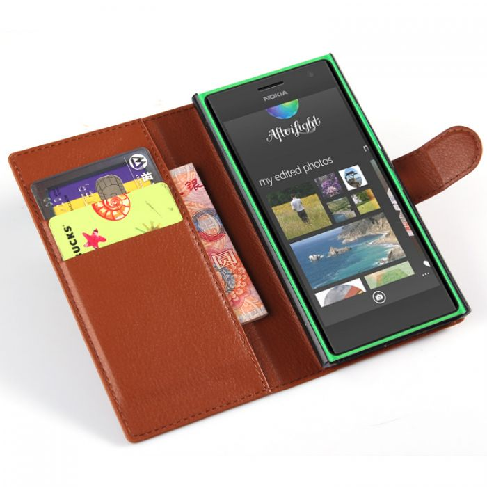 innovative design d379f be23e Nokia Lumia 730 Phone Case Wallet Flip Cover Leather Stand Display Card  Pocket