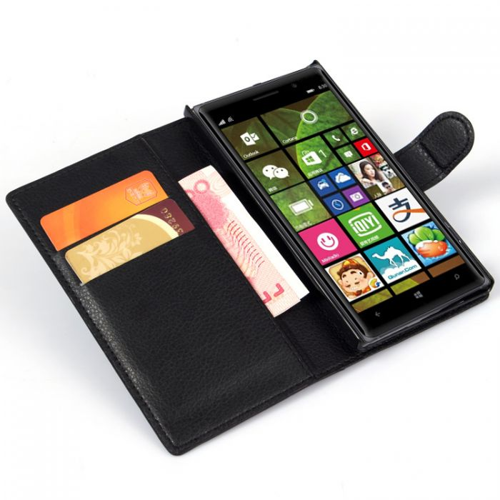 new styles 8071f 22893 Nokia Lumia 830 Phone Case Wallet Flip Cover Leather Stand Display Card  Pocket