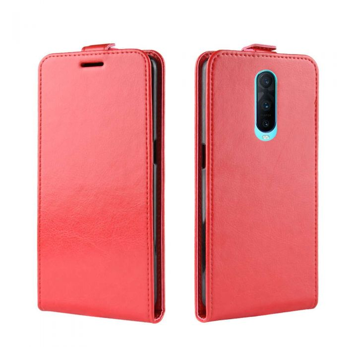 hot sale online 03a53 6ffdd OPPO R17 Pro Leather Flip Phone Case Flip Cover Vertical Open Wallet Case