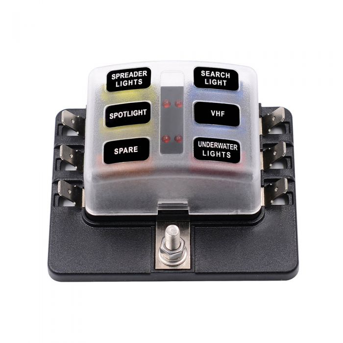 phoenix contact terminal fuse block fuse box with led indicator | free  shipping | ttlet com