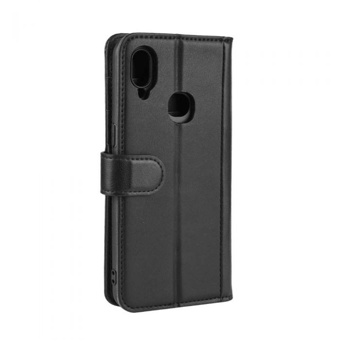 Lomogo Leather Wallet Case for Galaxy A10S with Stand Feature Card Holder Magnetic Closure Shockproof Flip Case Cover for Samsung Galaxy A10S LOBFE050337 L7