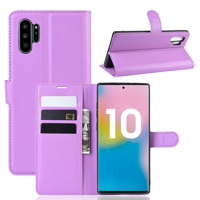Samsung Galaxy Note 10 Pro Phone Case Wallet Flip Cover Folio Leather Case  Stand Display Card Pocket