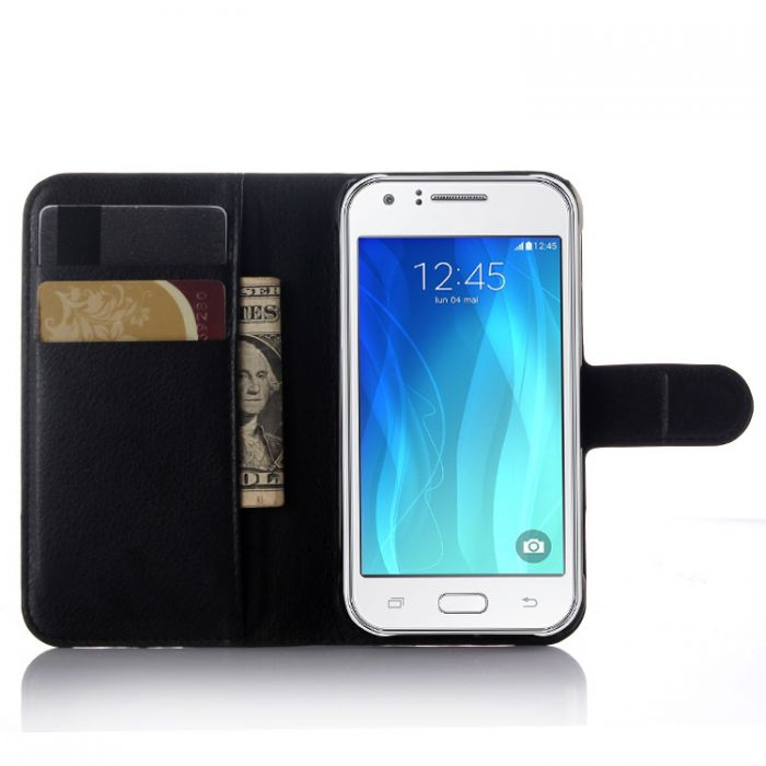 buy online 0ee4d c281c Samsung J1 Ace Galaxy J1 Ace/J110 Phone Case Wallet Flip Cover Leather  Stand Display Card Pocket