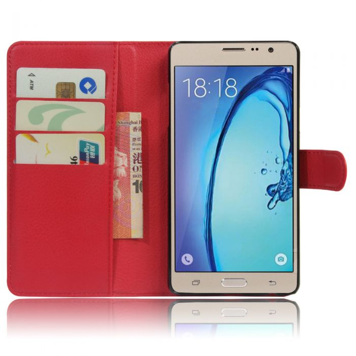 super popular 08f47 764f5 Samsung On5 Galaxy On5/G550/ on5 pro Phone Case Wallet Flip Cover Leather  Stand Display Card Pocket
