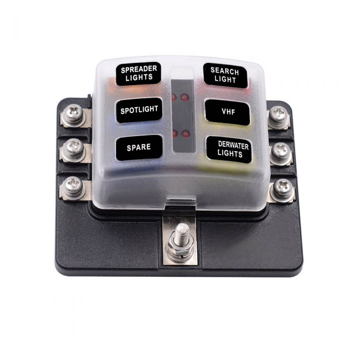 screw terminal fuse block fuse box with led indicator free