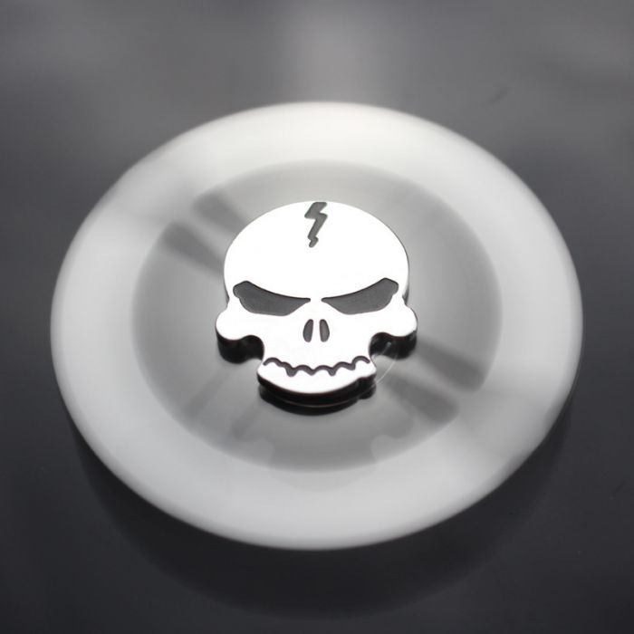 Skull and crossbones Fid Spinner Aluminum Alloy cool Hand Spinner