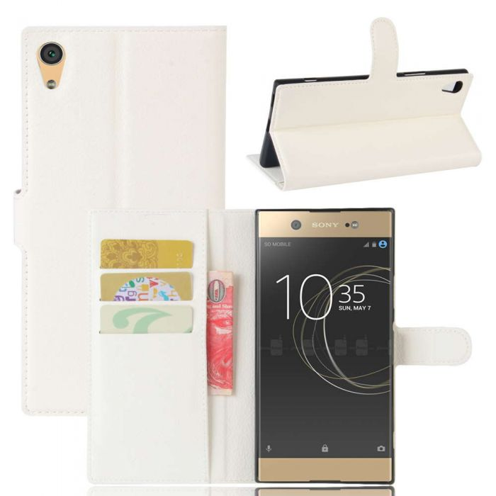 size 40 cbee2 71812 Sony Xperia XA1 Ultra Phone Case Wallet Flip Cover Folio Leather Case Stand  Display Card Pocket