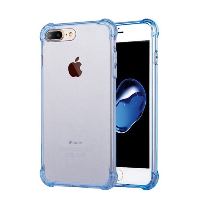 competitive price 22bc9 7f5b5 TTLET Clear iPhone soft TPU case with Drop Protection corners