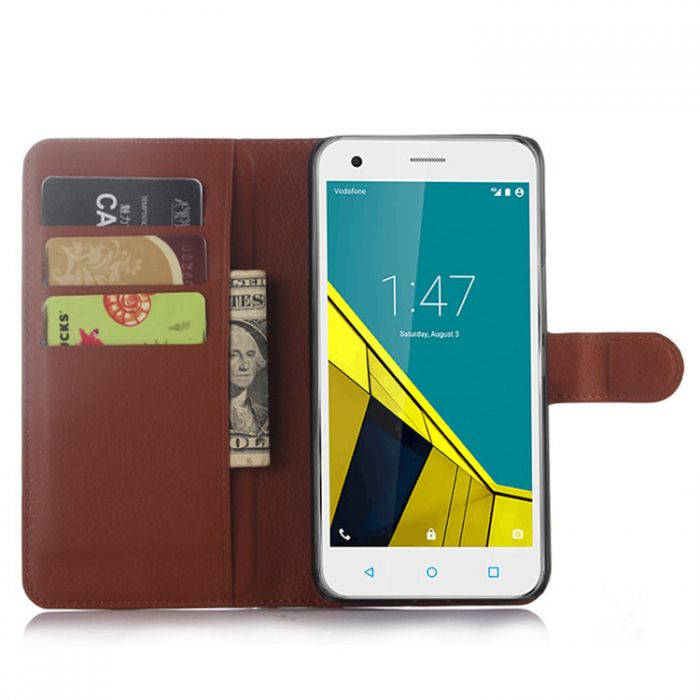 buy online 372b4 b9259 Vodafone Smart ultra 6 VF995N Phone Case Wallet Flip Cover Leather Stand  Display Card Pocket
