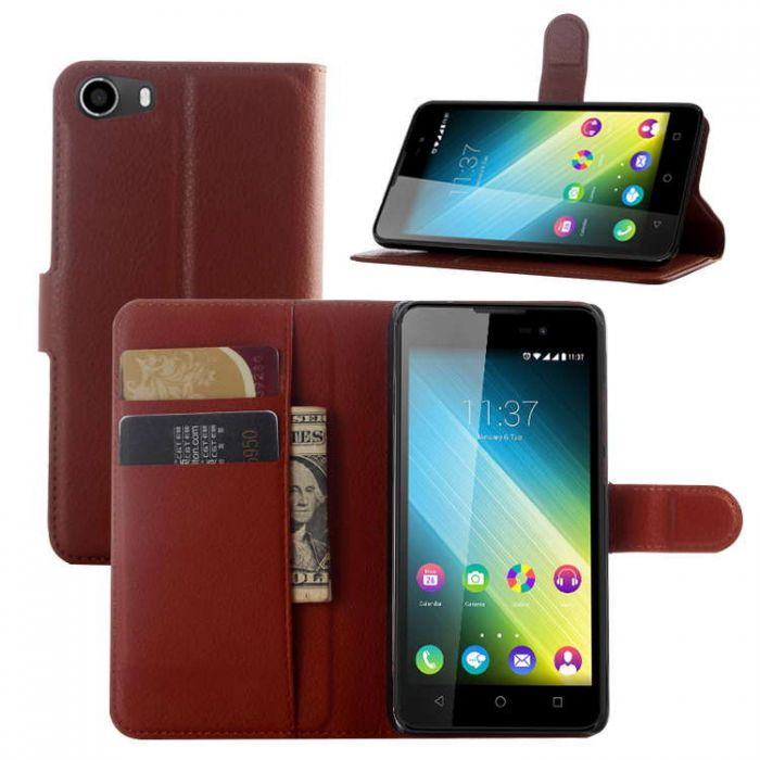 competitive price 63875 0ab90 Wiko Lenny 2 /BLU Advance 5.0 Phone Case Wallet Flip Cover Folio Leather  Case Stand Display Card Pocket