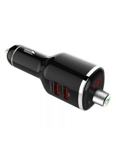 Bluetooth FM Transmitter 3 in 1 TTLET Car charger Voltage detection Mp3 U disk