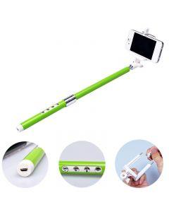 Bluetooth handheld monopod selfie stick