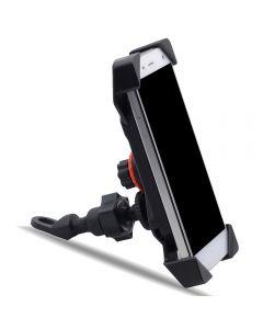 Adjustable & Rotatable Phone holder Mounted on Bike or Motorcycle
