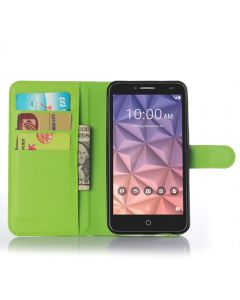 Alcatel Fierce XL OT5054 Phone Case Wallet Flip Cover Folio Leather Case Stand Display Card Pocket