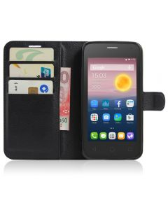 Alcatel Pixi 4(5) 4G OT5010D Phone Case Wallet Flip Cover Folio Leather Case Stand Display Card Pocket