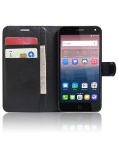 Alcatel Pop 4 Phone Case Wallet Flip Cover Folio Leather Case Stand Display Card Pocket