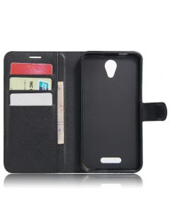 Alcatel Pop 4 plus Phone Case Wallet Flip Cover Folio Leather Case Stand Display Card Pocket
