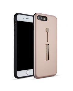 Apple iPhone 8 Phone Case with Hidden Kickstand and Silicon Belt Ring