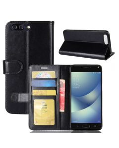 Asus 4 max ZC554KL Flip Folio Leather Wallet Case with ID and Credit Card Pockets