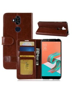 Asus 5 Lite ZC600KL Flip Folio Leather Wallet Case with ID and Credit Card Pockets