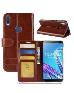 Asus MAX Pro (M1) ZB601KL Flip Folio Leather Wallet Case with ID and Credit Card Pockets