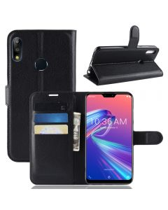 Asus Max Pro(M2)ZB631KL Phone Case Wallet Flip Cover Folio Leather Case Stand Display Card Pocket
