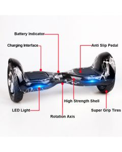 TTLET 10 inches Two wheel scooter Smart Self balancing scooter