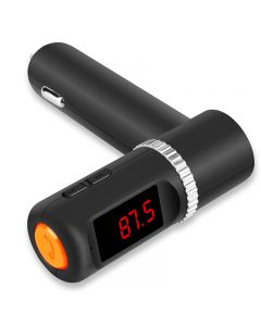 TTLET Bluetooth FM Transmitter 2 USB port 4.2A output