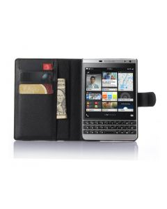 BlackBerry Classic Q30 Wallet Flip Cover Leather Phone Case
