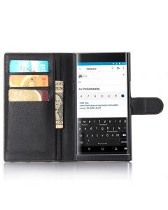 BlackBerry Passport Silver Edition Wallet Flip Cover Leather Phone Case