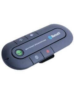 Multipoint Wireless Hands-Free Bluetooth Sun Visor In-Car Speakerphone Car Kit