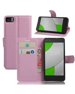 BQ Aquaris A4.5 Phone Case Wallet Flip Cover Folio Leather Case Stand Display Card Pocket