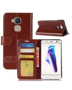 BQ V Flip Folio Leather Wallet Case with ID and Credit Card Pockets