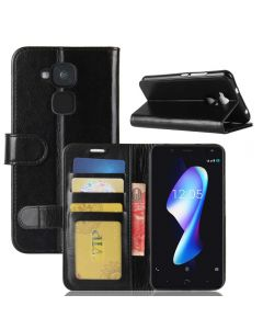 BQ V Plus Flip Folio Leather Wallet Case with ID and Credit Card Pockets