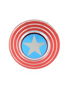 Captain America's Shield Fidget Spinner Focus Hand Spinner Finger Toy