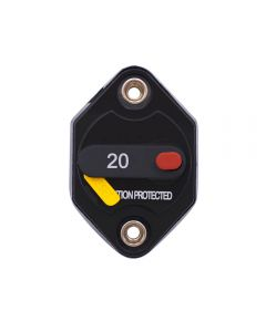 Weatherproof Circuit Breakers with Switch Ignition Protected Panel Mount Manual Reset E96