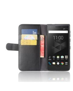 Genuine leather BlackBerry Motion Phone Case Wallet Flip Cover Stand Display Card Pocket