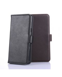 Genuine leather Huawei P10 Plus Phone Case Wallet Flip Cover Stand Display Card Pocket