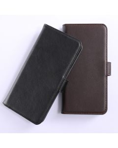 Genuine leather Huawei P8 lite (2017) Phone Case Wallet Flip Cover Stand Display Card Pocket
